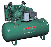 Champion Advantage Series Horizontal Air Compressor Unit Image