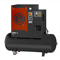 Chicago Pneumatic Quiet Rotary Screw Air Compressors Image (QRS5 HPD)